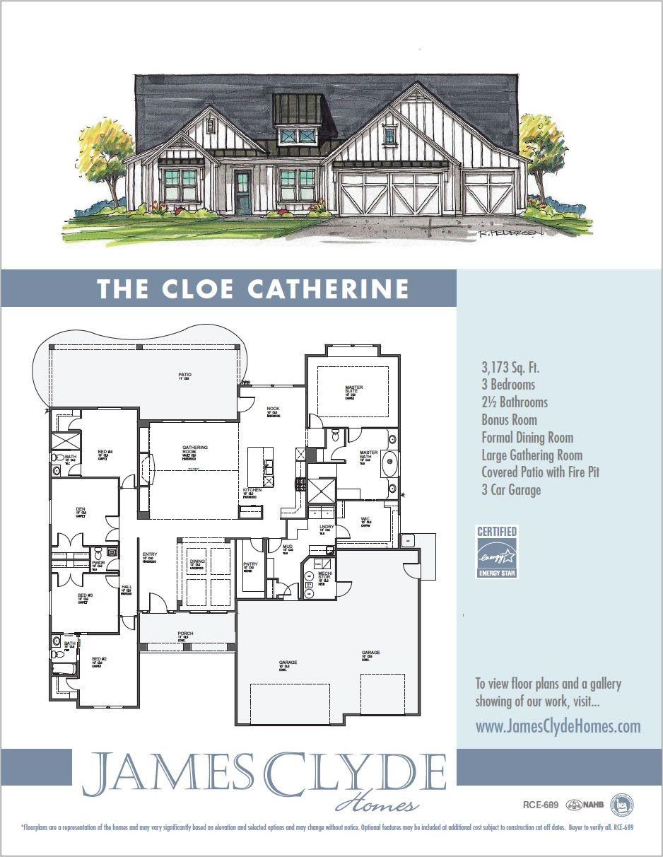 Cloe-Catherine - James Clyde Homes